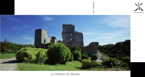 The castle of Saissac