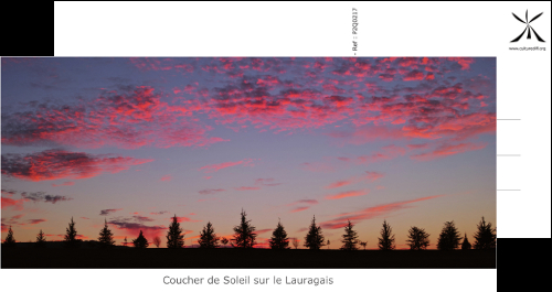 Sunset on the Lauragais