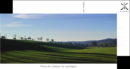 Plain and hills of Lauragais